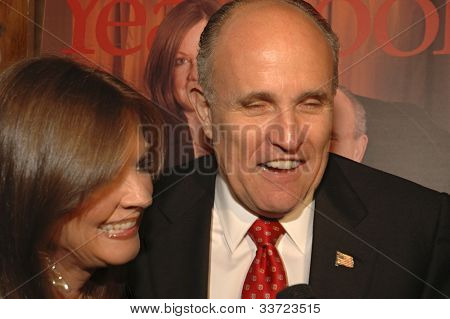 Rudy and Judith Giuliani Gotham Magazine's Sixth Annual Gala with Hosts Rudy and Judith Giuliani February 6, 2006 - Capitale New York City, New York United States