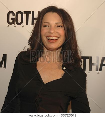 Fran Drescher at Gotham Magazine's Sixth Annual Gala with Hosts Rudy and Judith Giuliani February 6, 2006 - Capitale New York City, New York United States