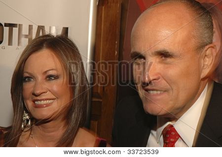 Rudy and Judith Giuliani at Gotham Magazine's Sixth Annual Gala with Hosts Rudy and Judith Giuliani February 6, 2006 - Capitale New York City, New York United States