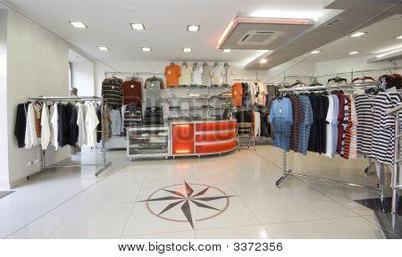 Moderne Shop-Interieur
