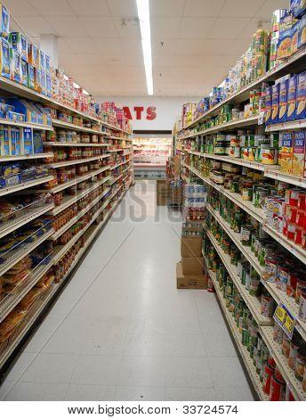 Ilha de supermercado