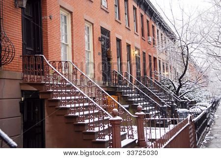 brownstone de Brooklyn