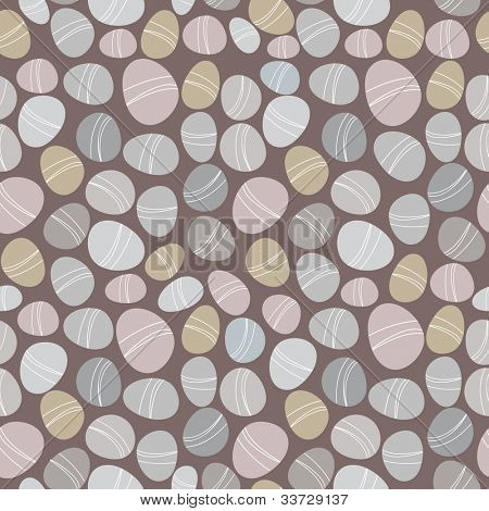 Seamless stone pattern on dark background