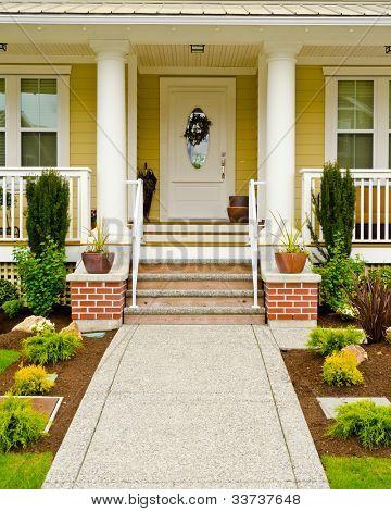 Entrance of a house