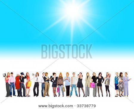 Sun Shining Diversity Among Us