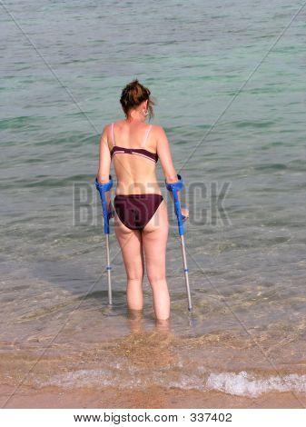 Invalid On Beach