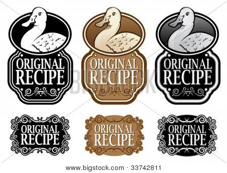 Original Recipe Duck version vertical seal