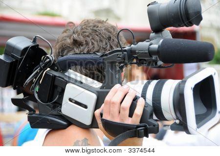 Video-Kameramann