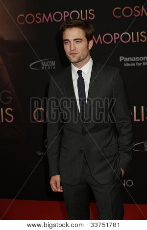 BERLIN - MAY 31: Robert Pattinson at the premiere of 'Cosmopolis' on May 31, 2012 in Berlin, Germany