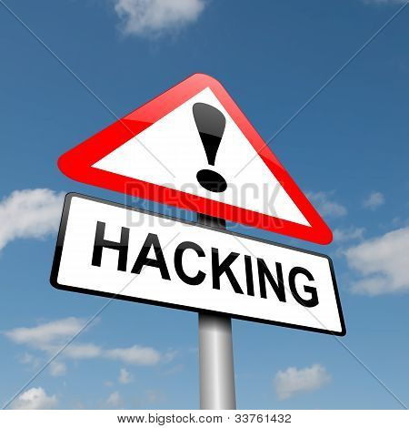 Hacking Concept.