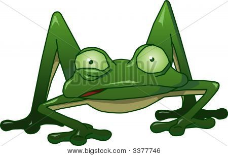 Twitchy The Nervous Frog