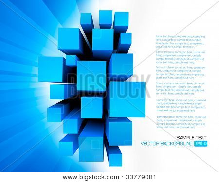 Business elegant abstract background. Vector.