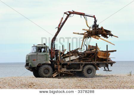 Heavy Dump Truck.