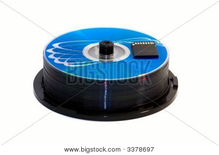 Memory Card And Cd/Dvd Disk