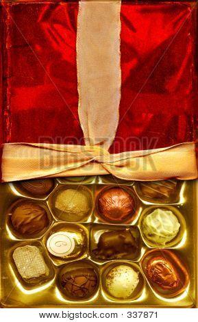 Chocolates And Ribbon
