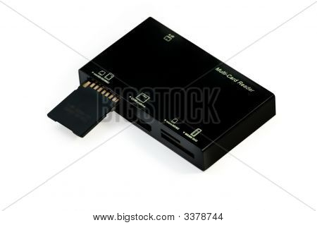 Usb Multi Card Reader With Flash Card
