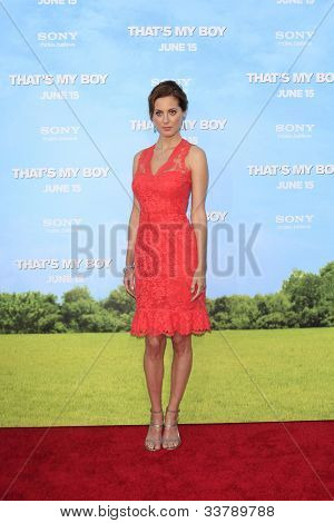 LOS  ANGELES- JUN 4: Eva Amurri Martino at the premiere of Columbia Pictures' 'That's My Boy' at the Regency Village Theater on June 4, 2012 in Los Angeles, California