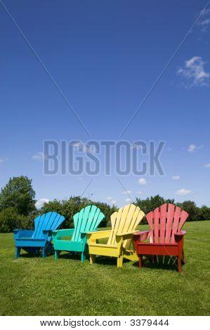 Adirondack Chairs Vertical
