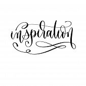 Inspiration - Hand Lettering Inscription Text Motivation And Inspiration Positive Quote poster