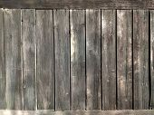 Old Wooden Striped Texture. Wooden Structure Background. poster