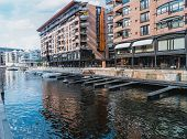 Sample Photos Showing The Architecture Of Oslo, Scandinavia poster
