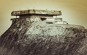 Pictures Show War Fortifications, Bunkers On Verdens Ende On The Island Of Tjome In Norway, Scandina poster