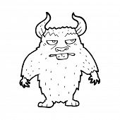 pic of minotaur  - cartoon minotaur - JPG