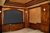 Private Home Theater Room