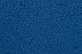 Trend Color 2020 Classic Blue, Top View, Layout For Design. Wall Is Painted In Dark Blue Color, Grai poster