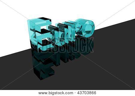 Blue Glass Euro Logo