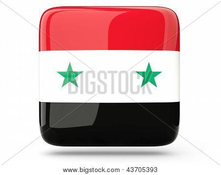 Square Icon Of Syria