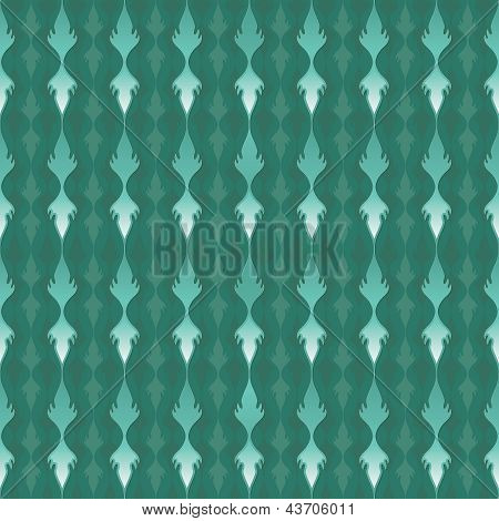 Elegant Teal Pattern