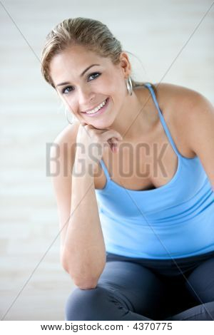 Gym Woman - Portrait