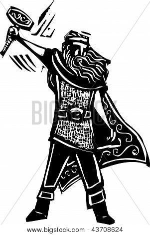 Norse God Thor