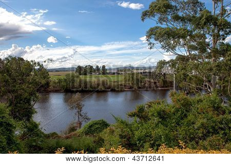 Hunter river in  Morpeth