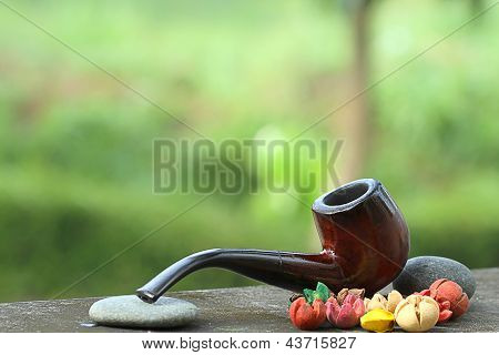 pipe for tobacco smoking