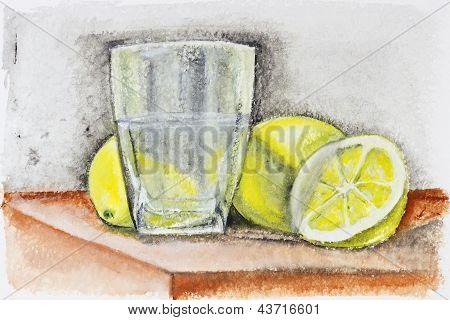 Dark Rough Lemonade Concept