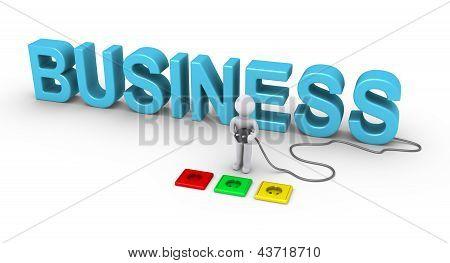 Persona elegir Socket para negocios