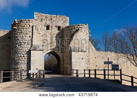 Walls Of Provins, Seine Et Marne, Ile De France, France