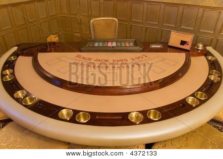 Gold Card-table