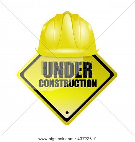 Under Construction Illustration Design