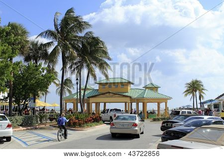 Lauderdale By The Sea, Florida, Stormy Ocean