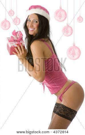 Christmas Pinup Pink