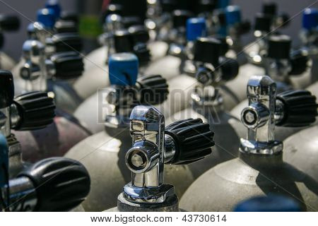Valves Of Scuba Tanks