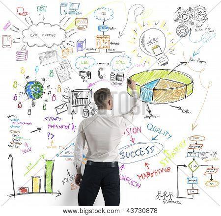 Moderne Business-Konzept