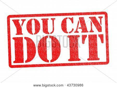 Você pode fazê-lo