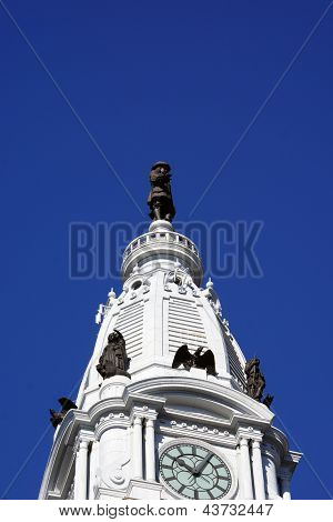 William Penn statue atop City Hall