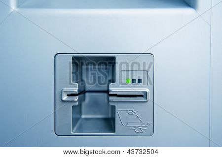 ATM Cash Point Slot