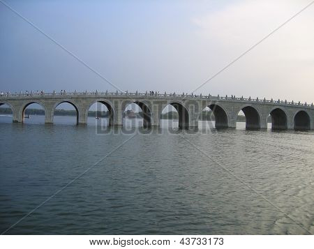 Arch bridge at Summer Palace