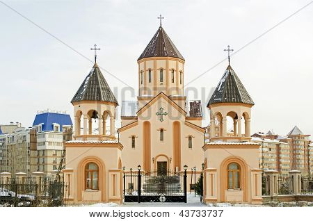 Church of St. Sarkis - Armenian Apostolic Church. Krasnoyarsk